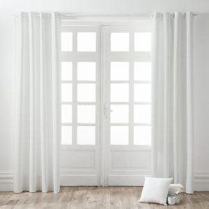 Kant en Klaar Gordijn Verduisterend Wit - 140cm x 260cm