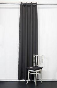 Kant en Klaar Gordijn Antraciet - 140cm x 260cm