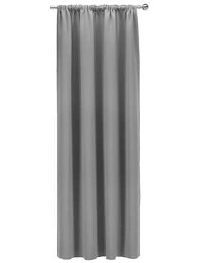 Gordijn Nevada - grijs - 250x140 cm (1 stuk) - Leen Bakker