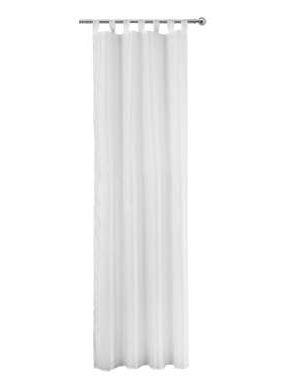 Gordijn Toledo - wit - 280x135 cm (1 stuk) - Leen Bakker